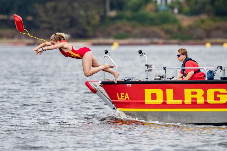 Das einzige Rettungsboot am Kulkwitzer See ist durch den Diebstahl nicht mehr einsatzfähig. (Symbolbild)