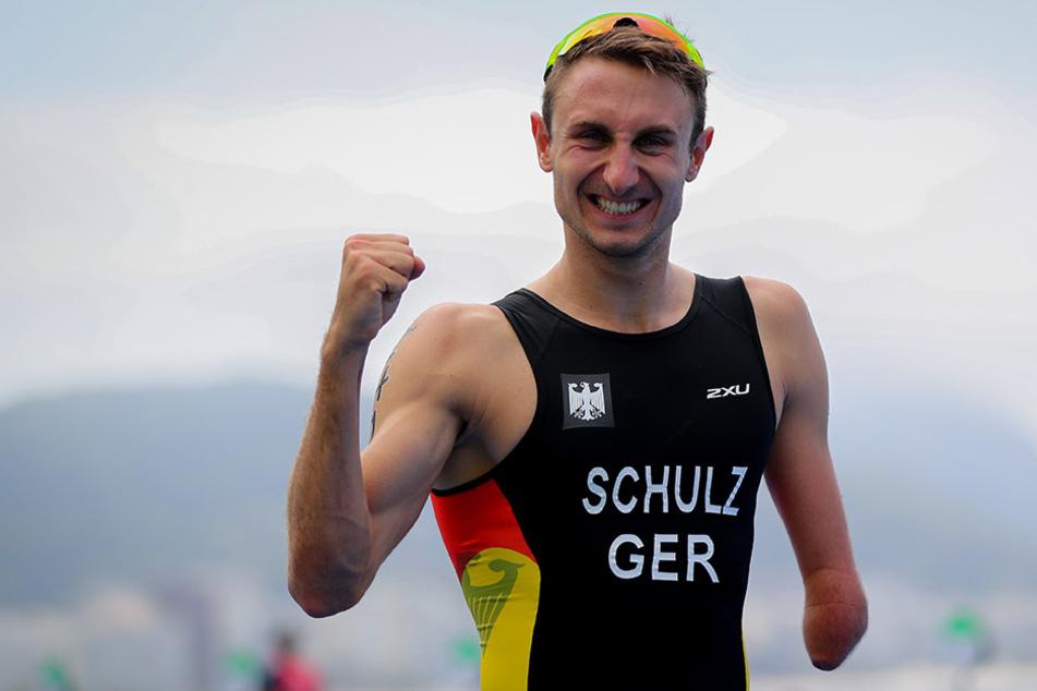 Der Paralympics-Sieger von Rio, Martin Schulz, tritt am Montag seine Stelle in der Leipziger Stadtverwaltung an.
