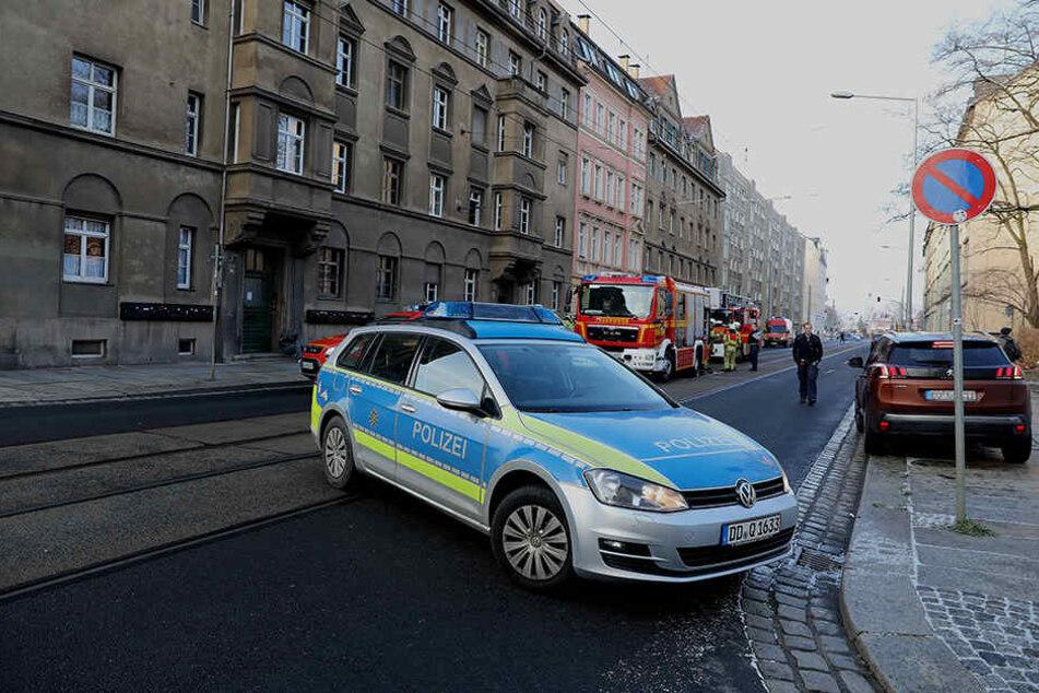 Die Schäferstraße ist derzeit voll gesperrt.