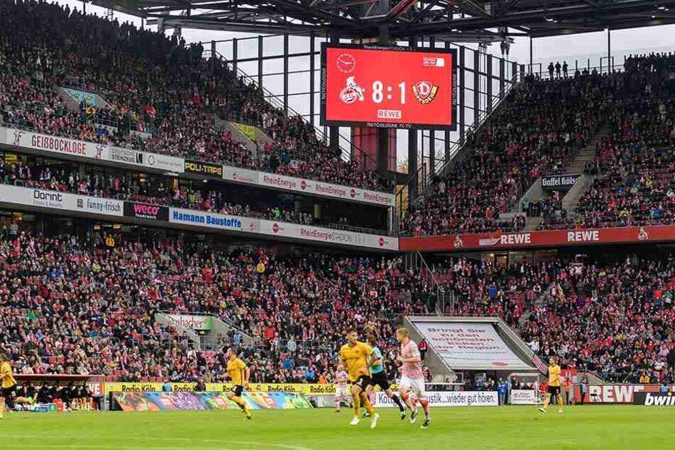 Das 8:1 der Kölner gegen Dresden war Dynamos höchste Niederlage in der Vereinsgeschichte.