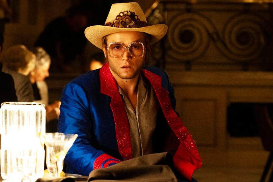 """Selbst der überzeugende Taron Egerton als Elton John kann aus """"Rocketman"""" keinen guten Film machen."""