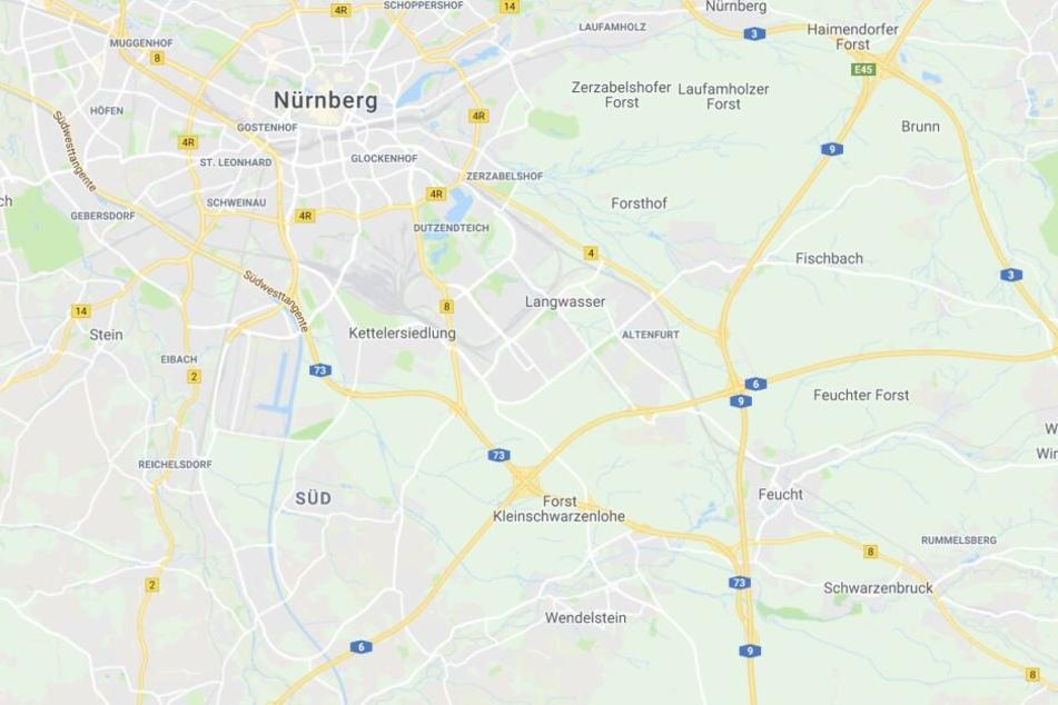 Ein Lkw-Fahrer wurde an der Rastanlage Feucht in der Nähe von Nürnberg von der Polizei kontrolliert.
