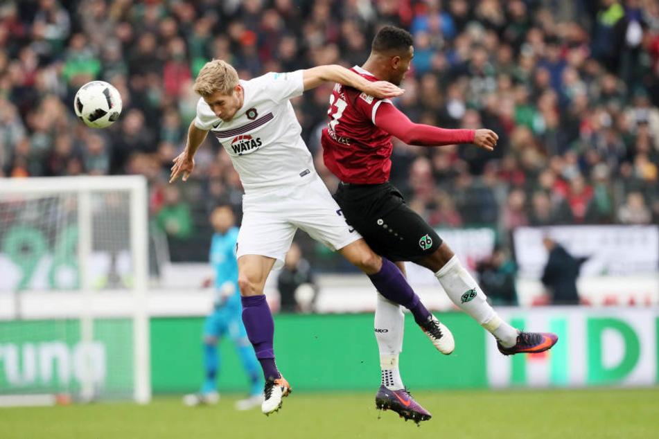 Er steht nicht erst seit dem Hannover-Spiel in der Kritik: Sebastian Hertner.