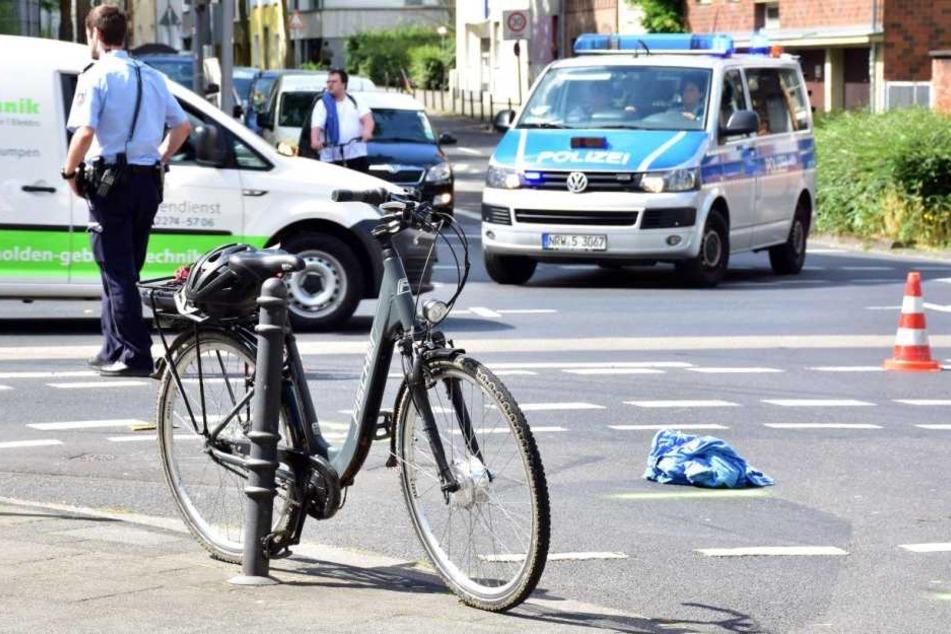 Das E-Bike des Unfallopfers.