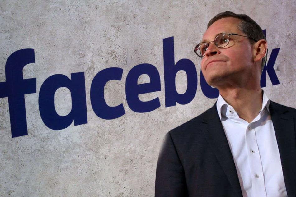 Michael Müller ist jetzt auch als Berlins Bürgermeister auf Facebook präsent. (Montage)