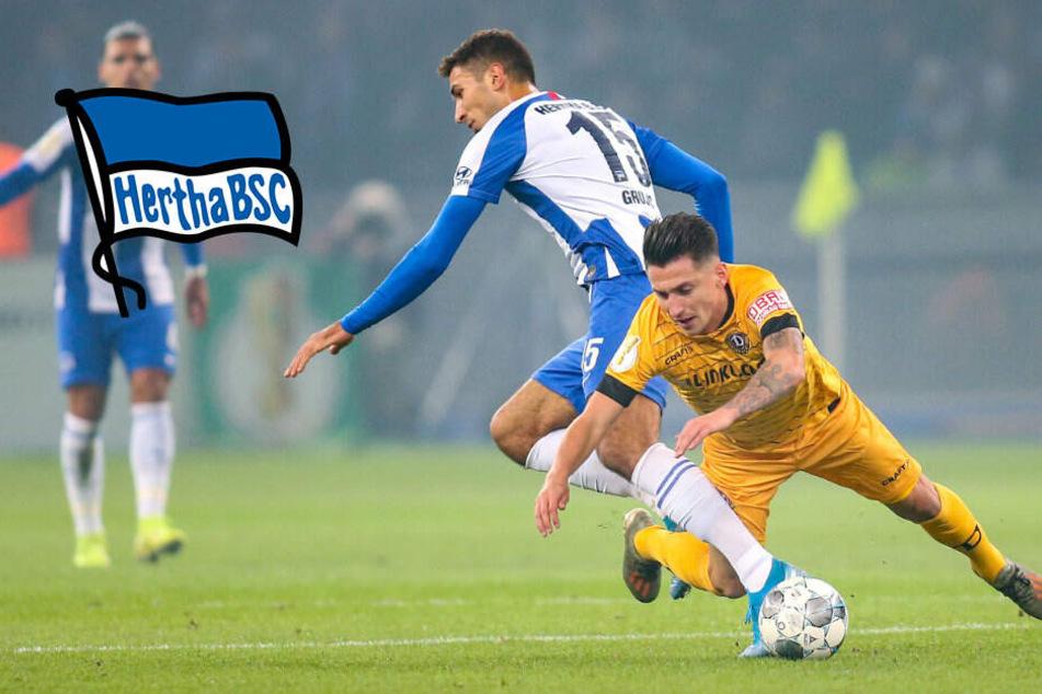 Hertha gewinnt irren Pokal-Fight im Elfmeterschießen gegen Dynamo