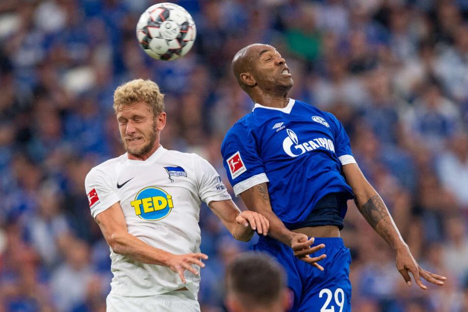 Dieses Duell wird es zukünftig nicht mehr geben: Während Naldo (r.) schon im Winter die Bundesliga verließ, wird Fabian Lustenberger (l.) sich im Sommer ebenfalls verabschieden.