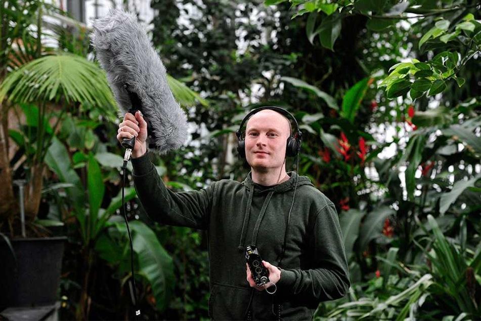 """TU-Forscher Stefan Kahl (34) steckt hinter der App """"BirdNET""""."""