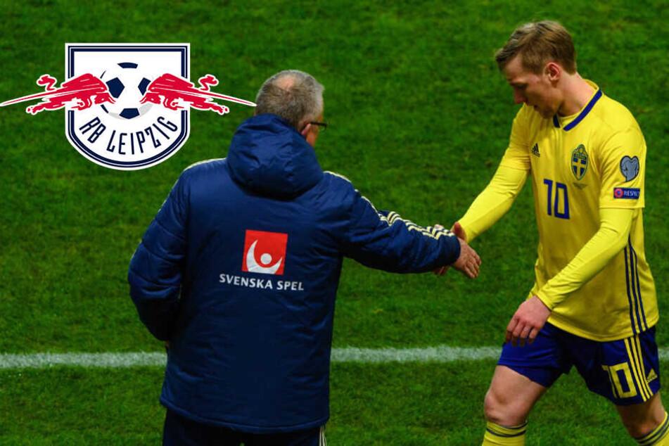 Schweden-Zoff um RB Leipzigs Forsberg: Jetzt spricht der Nationaltrainer