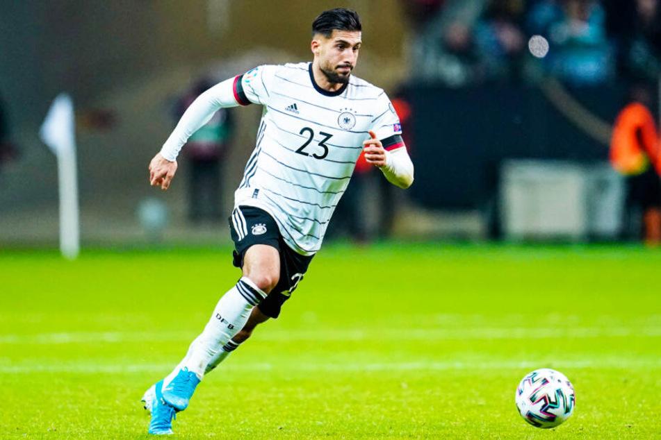 Emre Can absolvierte bislang 25 Länderspiele für Deutschland (ein Tor).