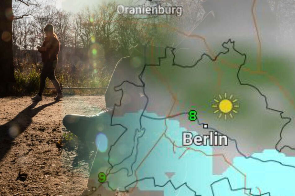 Milde Temperaturen stehen den Leuten in der Region ins Haus. (Bildmontage)