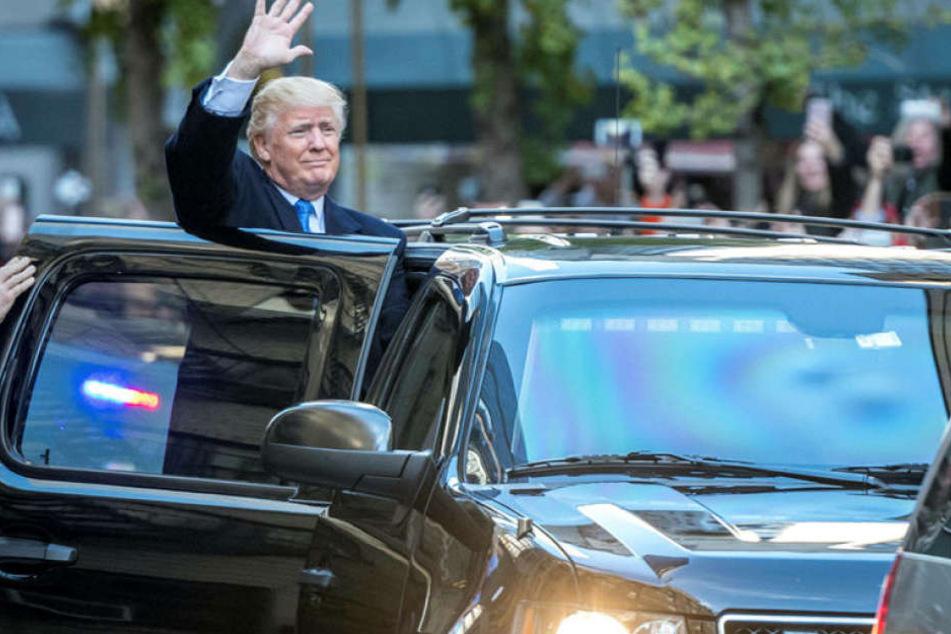 Illegale Einwanderungund ein viel härterer Umgang mit Einwanderung generell waren ein roter Faden des Trump-Wahlkampfs.
