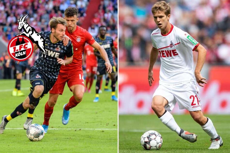 1. FC Köln: Koziello und Hauptmann ohne Einsatz: Wer die Geißböcke im Winter verlassen könnte