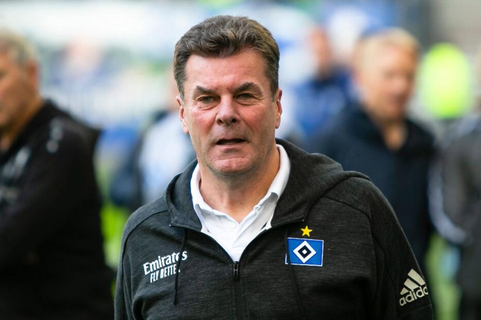 Dieter Hecking macht den HSV fit für das Ende der Winterpause. (Archivbild)