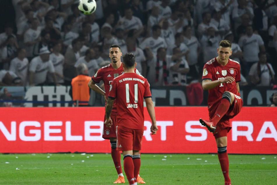 Der FC Bayern München hat mit Eintracht Frankfurt noch eine Rechnung offen.