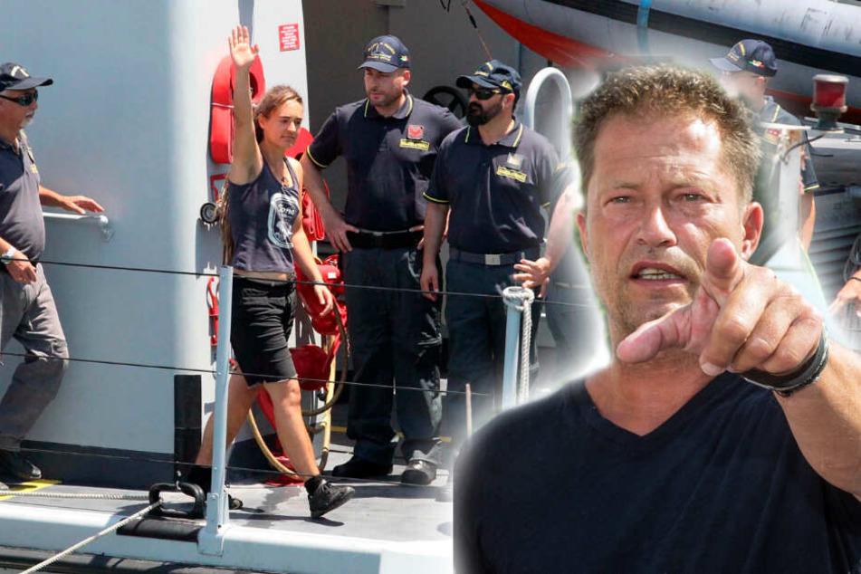 Nach Verhaftung von Sea-Watch-Kapitänin: Til Schweiger von Regierung enttäuscht