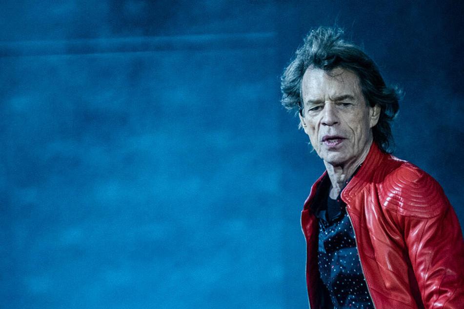 Mick Jagger im Berliner Olympiastadion 2018.