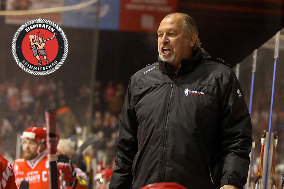 Paukenschlag beim ETC: Eispiraten feuern Coach Kim Collins