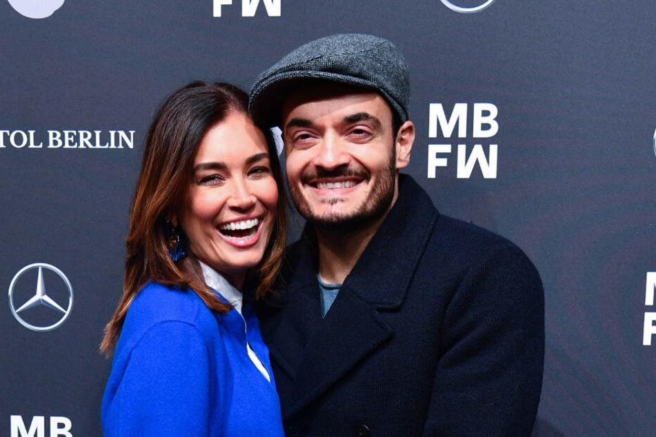 Jana Ina Zarella mit ihrem Mann Giovanni.