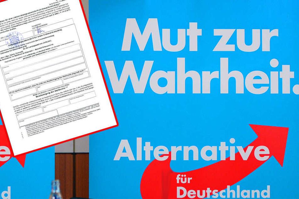 Staatsanwaltschaft ermittelt nach Unterschriften-Fälschung von AfD-Kandidatin
