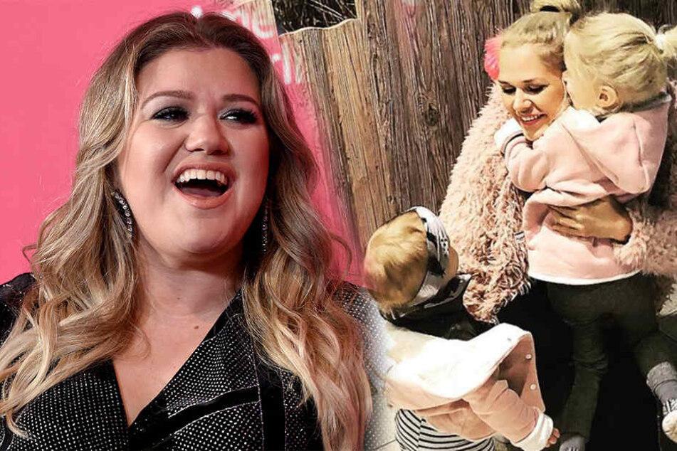 Kelly Clarkson (35, links) hat gestanden, ihrer Tochter (3) immer mal einen Klaps auf den Hintern zu geben. Sara Kulka (27) machen solche Erziehungsmethoden vor allem eins: wütend.
