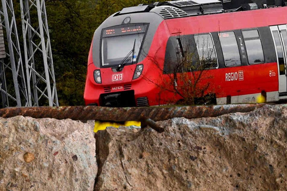 Die Kollision mit dem Beton hätte katastrophale Auswirkungen haben können. (Bildmontage)