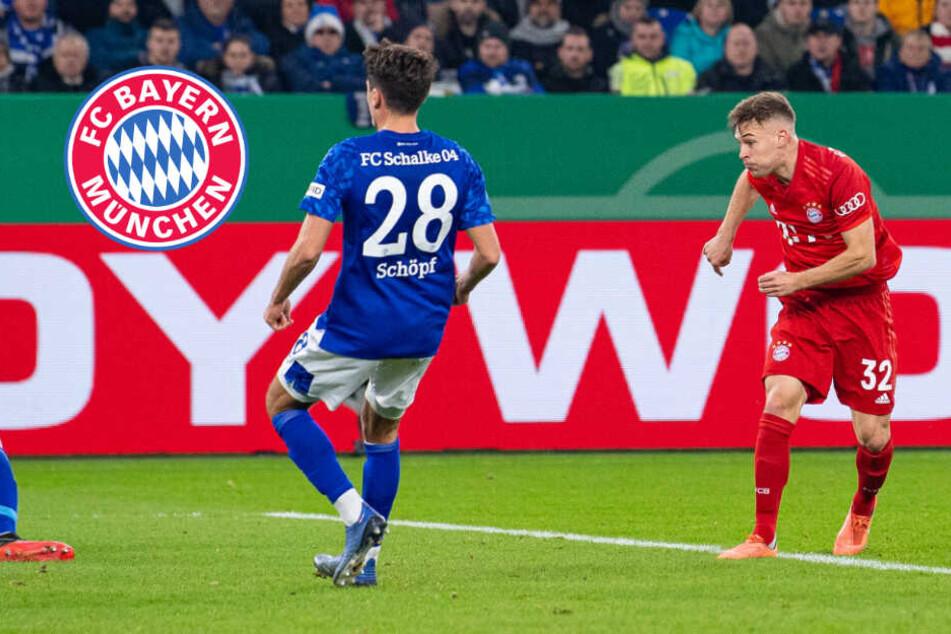 Kimmich-Hammer reicht fürs Pokal-Halbfinale! FC Bayern schlägt Schalke 04