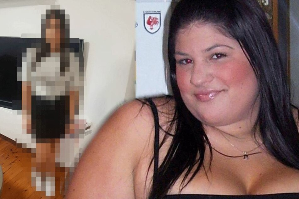 Frau halbiert ihr Gewicht nahezu und sieht jetzt völlig anders aus