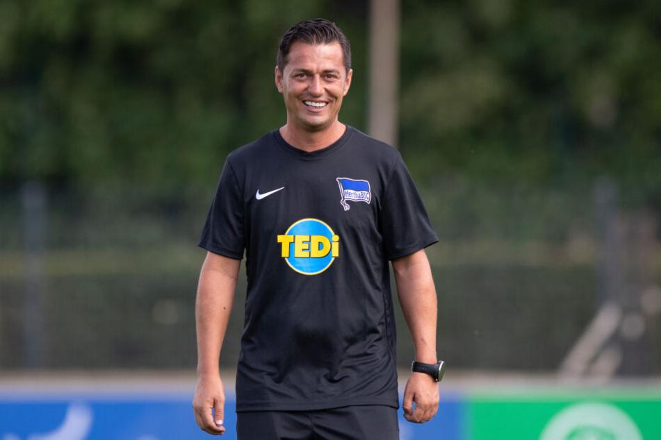 Ante Covic ist neuer Trainer bei Hertha BSC.