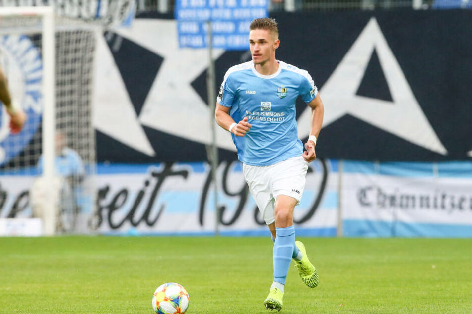 Sören Reddemann vom Chemnitzer FC.
