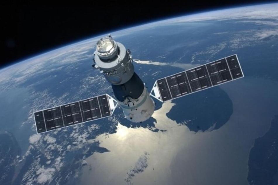 Die Weltraumstation Tiangong-1 rast seit Jahren unkontrolliert durchs Weltall.