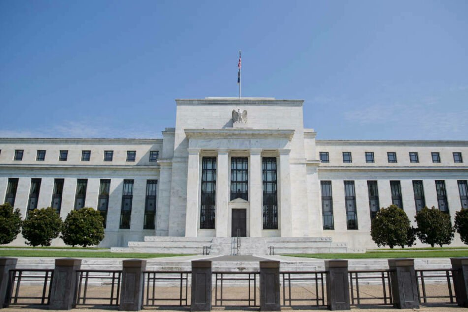 Der Hauptsitz der US-Notenbank Federal Reserve (Archivbild).