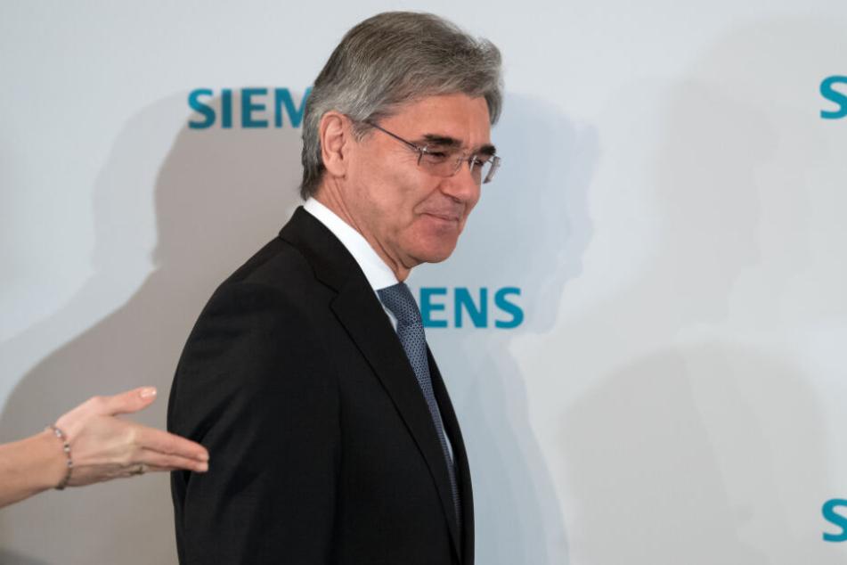 Joe Kaeser, Vorstandsvorsitzender der Siemens AG.