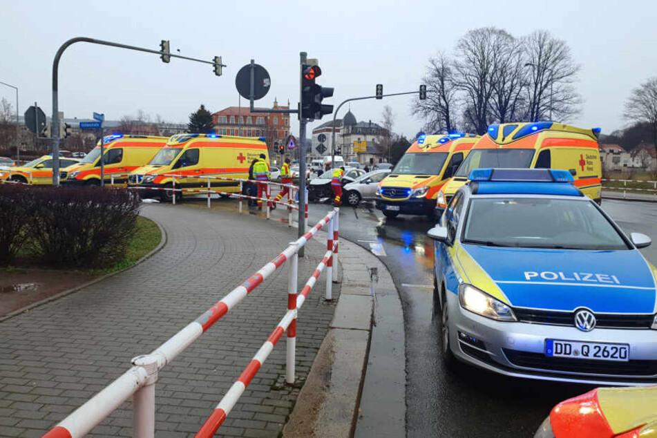 Mehrere Einsatzkräfte waren vor Ort.