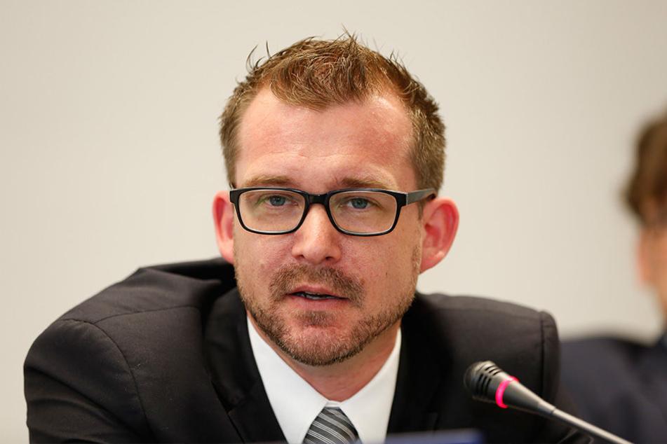 Bau- und Verkehrsbürgermeister Raoul Schmidt-Lamontain (39, Grüne)