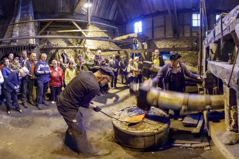 Reich an Kulturschätzen wie den Frohnauer Hammer ist das Erzgebirge. Jetzt soll es auch mit dem Welterbe-Titel klappen.