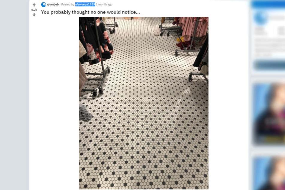 Dieses Bild postete der User.