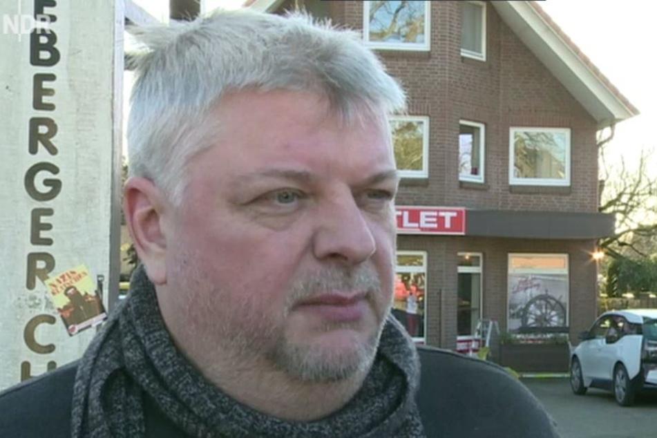 Miro Berbig, Fraktionsvorsitzender der LINKEN-Stadtvertretung