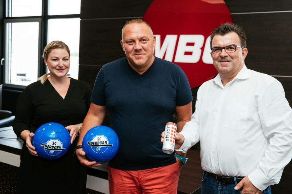 Lena Homburg, Brand Management effect, Andreas W. Herb, CEO bei MBG International Premium Brands GmbH, und SCP-Gesamtg