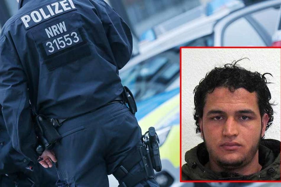 Die Polizei hat den verdächtigen Mann am 10. Februar festgenommen. Er bewegte sich im selben Umfeld wie Anis Amri (kleines Bild).