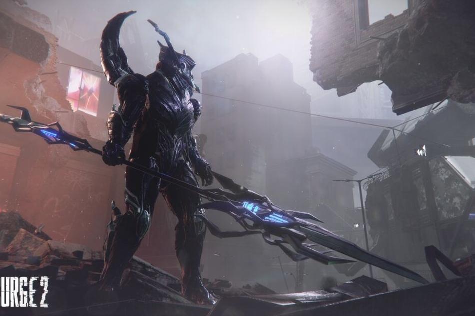 Das Spiel befördert Euch in die futuristische Stadt Jericho City, in der eine mysteriöse Seuche Menschen und Maschinen in mordende Monster verwandelt hat.