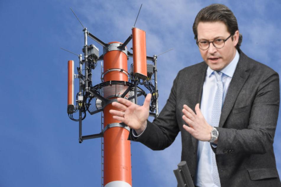 """Bis 2021! So will """"Handy-Minister"""" Scheuer die Funklöcher in Deutschland stopfen"""