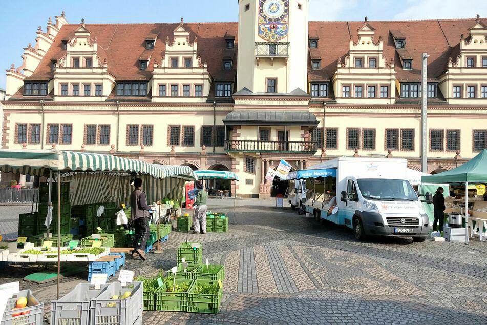 Der Leipziger Markt.