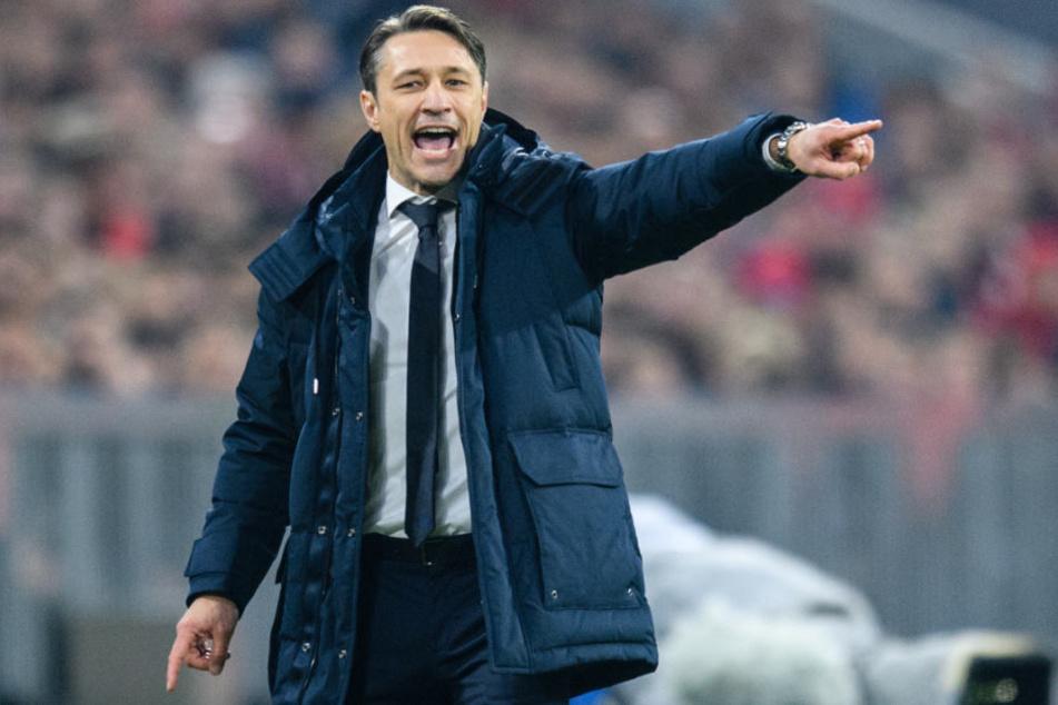 Bayern-Trainer Niko Kovac dürfte mit der Leistung seines Teams nicht zufrieden sein.