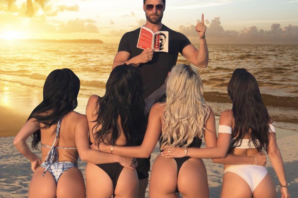 Der Möchtegern-Millionär Bastian Yotta (43) scheint Frauen hauptsächlich als Sexobjekte wahrzunehmen.