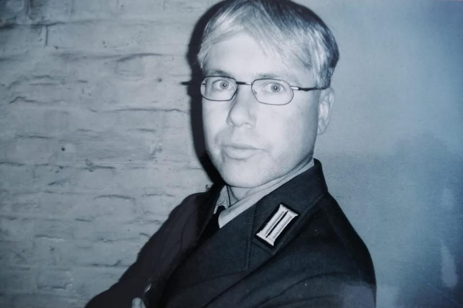 TAG24-Redakteur Torsten Hilscher im September 2004 während der Dreharbeiten in Berlin.