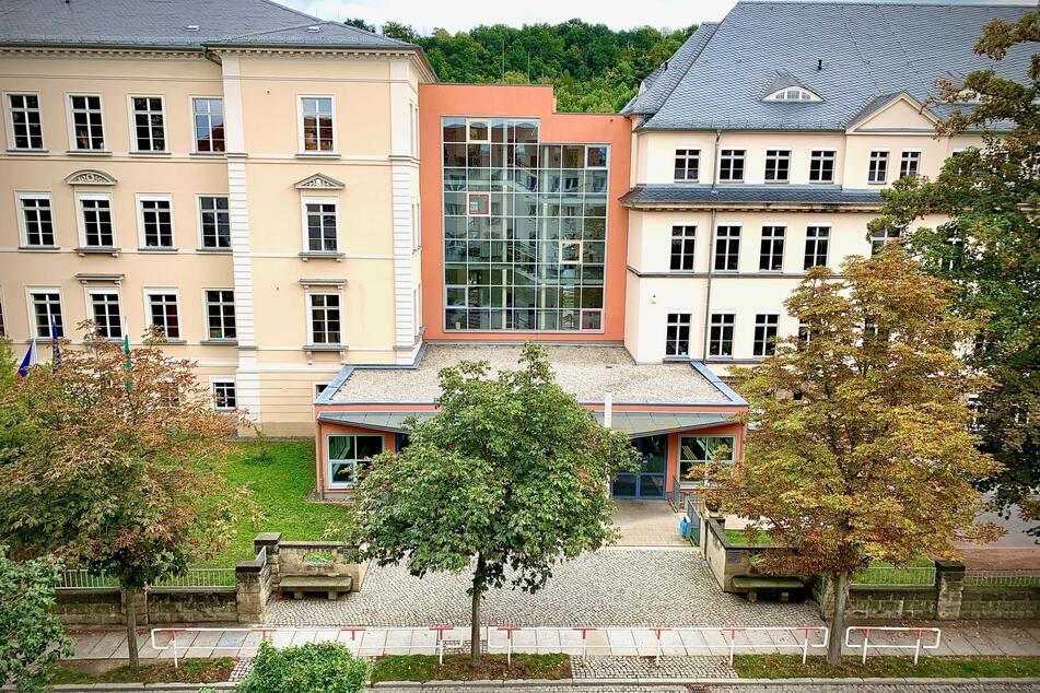 Das Friedrich-Schiller-Gymnasium in Pirna.