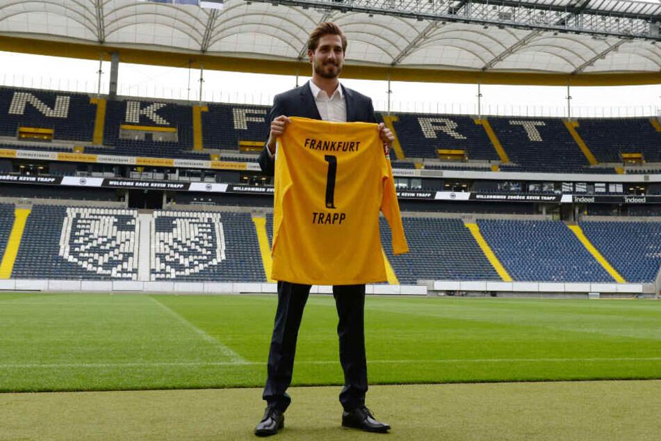 Kevin Trapp ist nun wieder ganz offiziell die Nummer eins bei Eintracht Frankfurt.