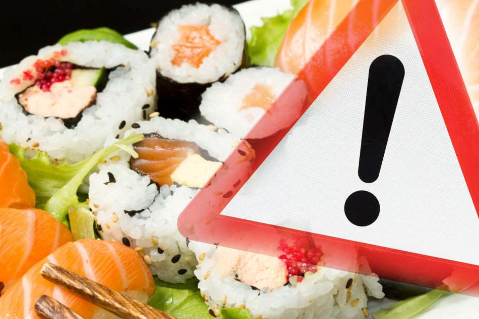 Betroffen sind zwei Sushi-Boxen bei Aldi Süd und Penny. (Symbolbild)