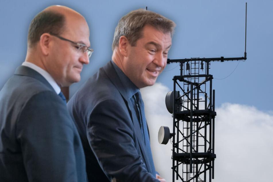 Digitales Bayern: Flächendeckendes Internet trifft Funklöcher